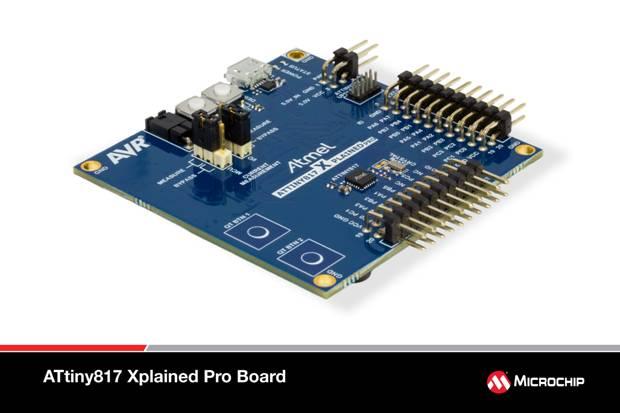 防水功能强大的外设触摸控制器令Microchip MCU如虎添翼