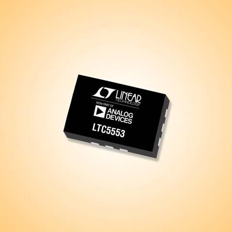 集成 LO 缓冲器的超宽带 3GHz 至 20GHz 混频器采用纤巧 3mm x 2mm 封装并提供 23.9dBm IIP3