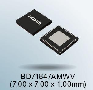 """罗姆推出适用于恩智浦 """"i.MX 8M Mini系列""""处理器的电源管理IC"""