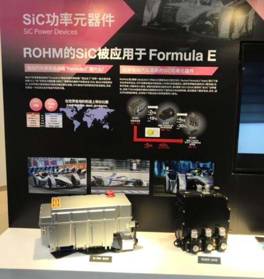 罗姆携引领世界的碳化硅器件,参展2019 PCIM Asia