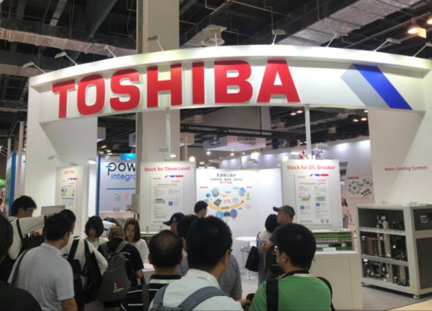 东芝电子展示电力能源先进技术