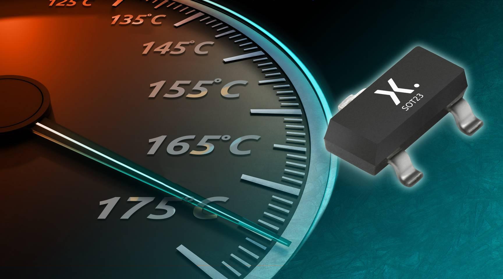 Nexperia率先推出以SOT23封装的 175℃二极管及晶体管